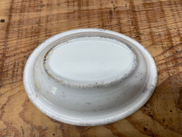 Ironstone Soap Dish - Unmarked