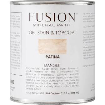 Fusion Mineral Paint - Gel Stain & Topcoat - Patina