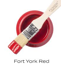 Fusion Mineral Paint - Fort York Red 1.25oz.