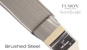 Fusion Mineral Paint - Metallics Brushed Steel 1.25oz.