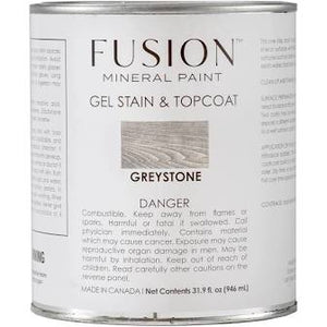 Fusion Mineral Paint - Gel Stain & Top Coat - Greystone