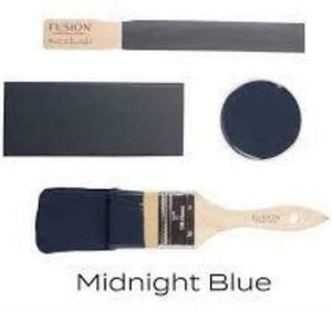 Fusion Mineral Paint - Midnight Blue 16oz.