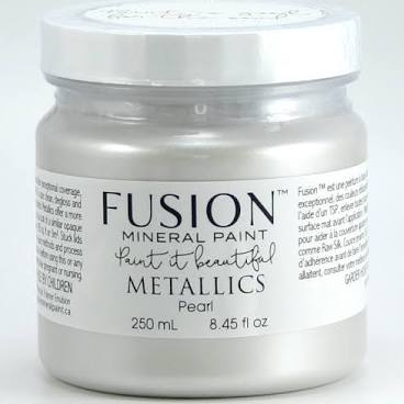 Fusion Mineral Paint - Metallic Pearl 1.25oz.
