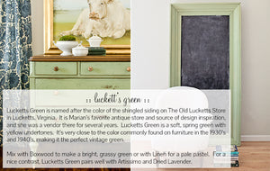 Miss Mustard Seed's Milk Paint Lucketts Green