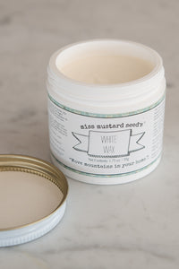Miss Mustard Seed's Milk Paint White Wax 2 oz.