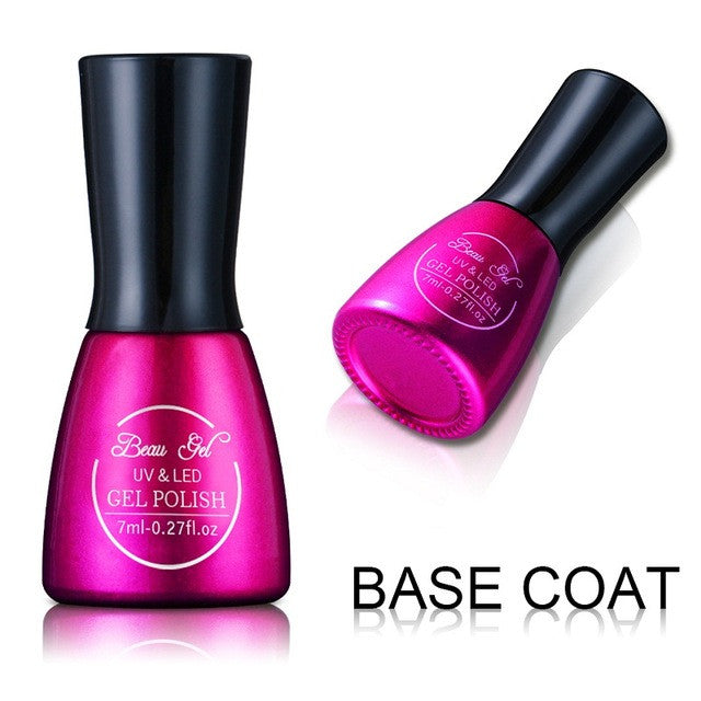 Beau Gel 7ml Chameleon Thermal Color Changing UV Gel Lacquer
