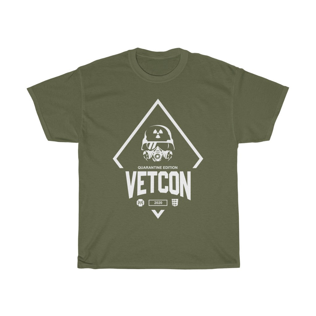 Vetcon 2020 Quarantine Edition : Military Green Unisex Heavy Cotton Tee