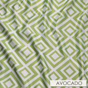 Paragon Print Lamour - Table Napkins, Avocado, LGi Linens
