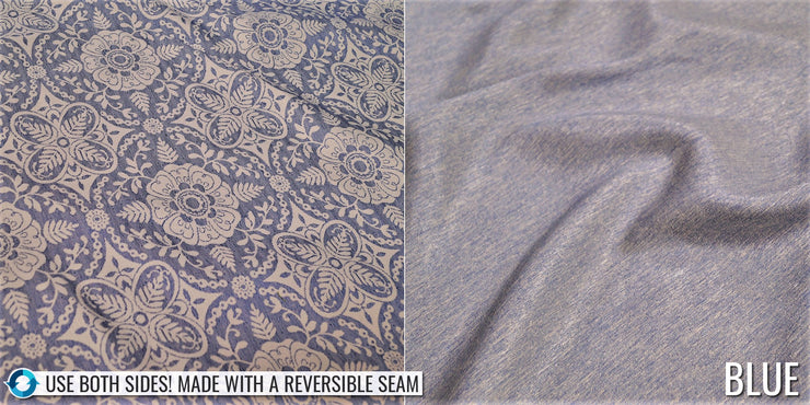 Morocco Jacquard - Table Linens, Blue, LGi Linens