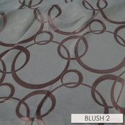 Cirque Jacquard (Reversible) - Table Runners, Blush, LGi Linens