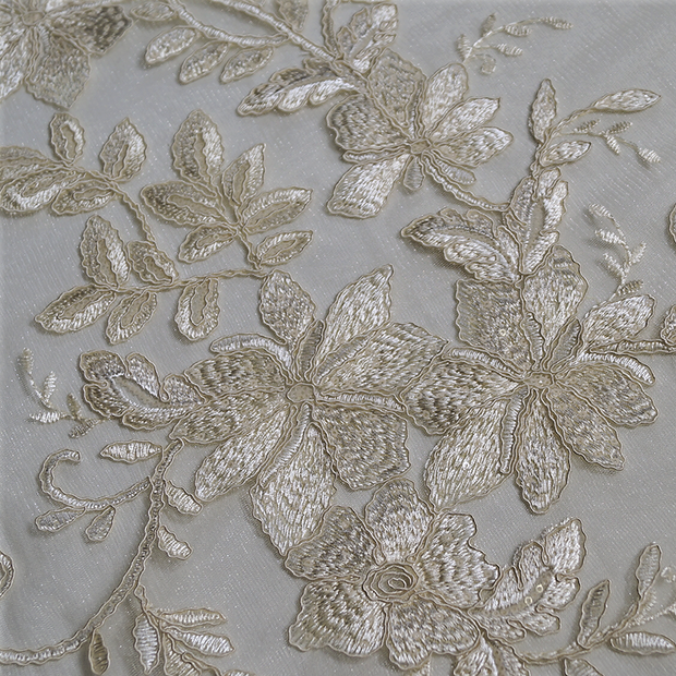 Claire Lace - Table Linens, Ivory, LGi Linens