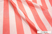 "2"" Satin Stripe - Chair Sash, Coral, Lgi Linens"