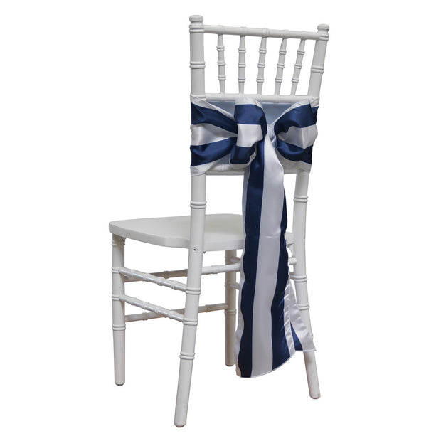 "2"" Satin Stripe - Chair Sash, Lgi Linens"