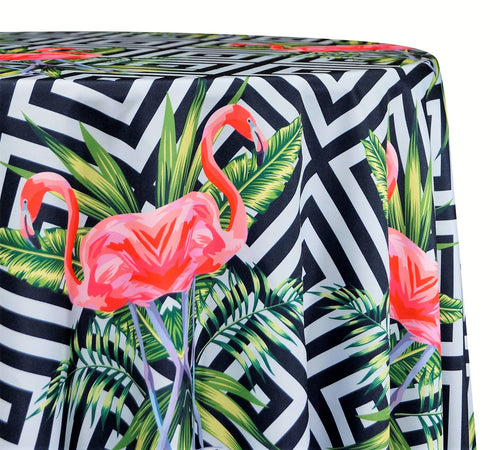 Flamingo Poly Print - Table Linens