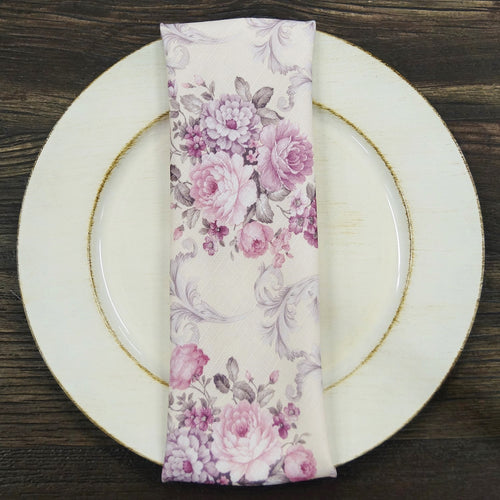 French Floral - Table Napkins