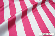 "2"" Satin Stripe - Chair Sash, Fuchsia, Lgi Linens"
