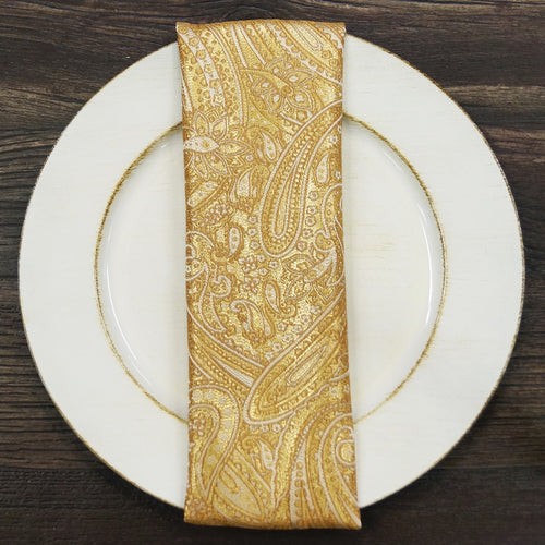 Paisley Jacquard - Table Napkins