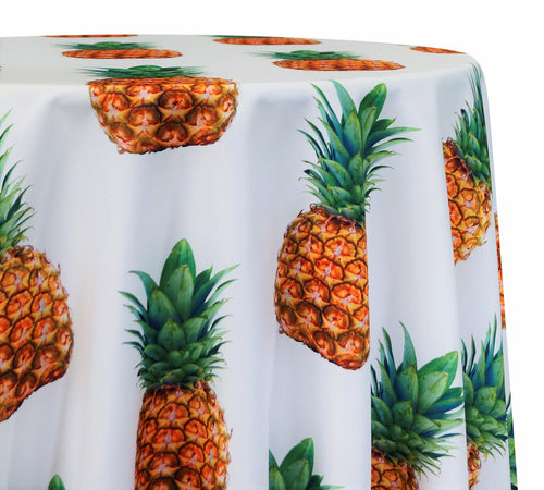Pineapple Poly Print - Table Linens