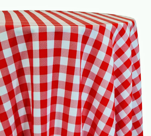 Polyester Checker (Gingham) - Table Linens