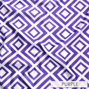 Paragon Print Lamour - Table Napkins, Purple, LGi Linens