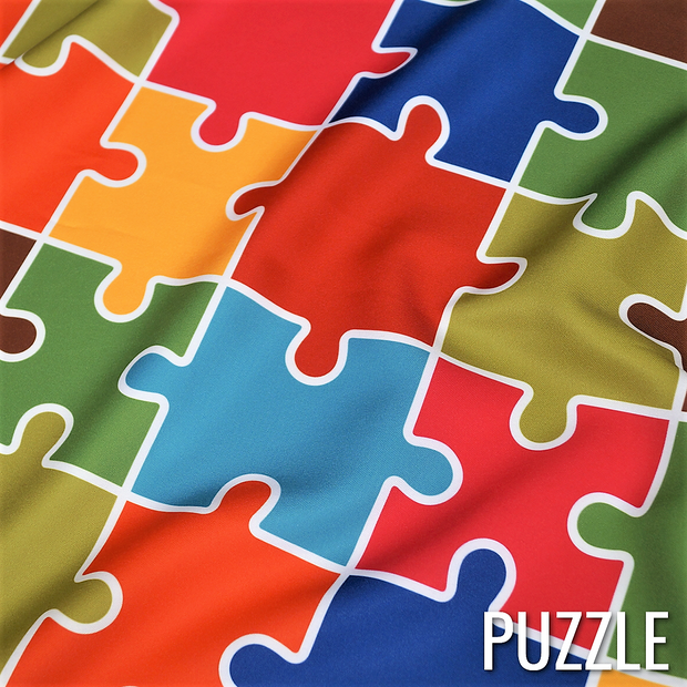 Puzzle (Poly Print) - Table Runners, Puzzle, LGi Linens