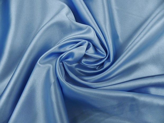 Bridal Satin - Table Napkins, Blue, LGi Linens
