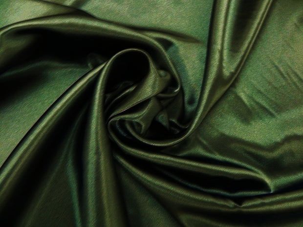Bridal Satin - Table Napkins, Dark Olive, LGi Linens