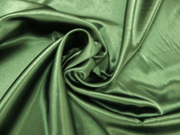 Bridal Satin - Chair Sash, Dark Sage, LGi Linens