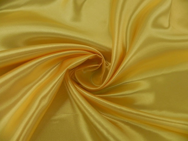 Bridal Satin - Table Napkins, Dark Yellow, LGi Linens