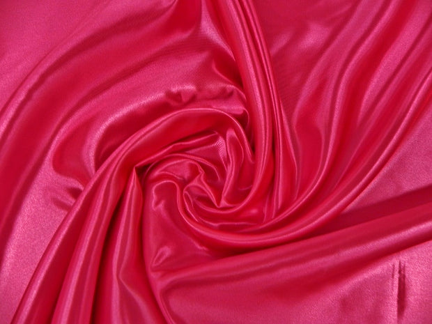 Bridal Satin - Chair Sash, Fuchsia, LGi Linens