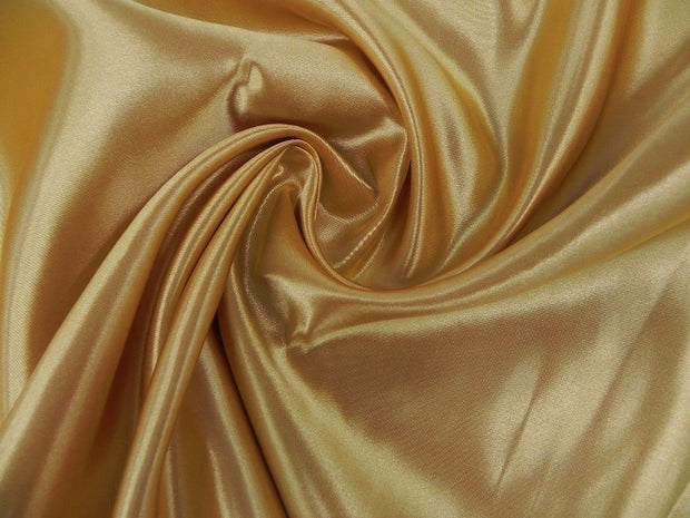 Bridal Satin - Chair Sash, Gold 902, LGi Linens