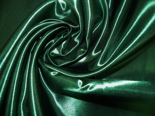 Bridal Satin - Chair Sash, Hunter Green, LGi Linens