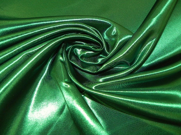 Bridal Satin - Chair Sash, Kelly Green, LGi Linens