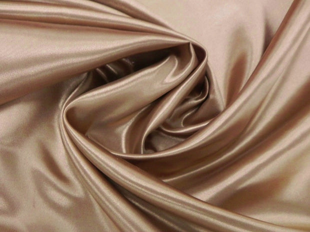 Bridal Satin - Chair Sash, Khaki, LGi Linens