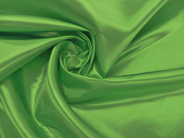 Bridal Satin - Table Napkins , Lime Green, LGi Linens