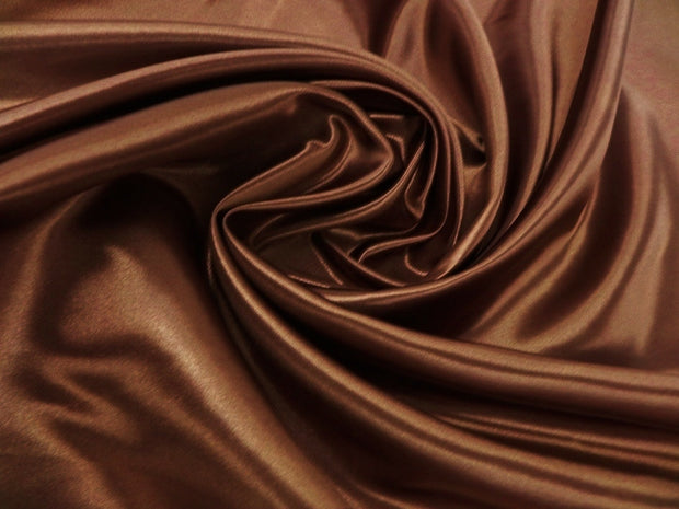 Bridal Satin - Table Napkins, Light Brown, LGi Linens