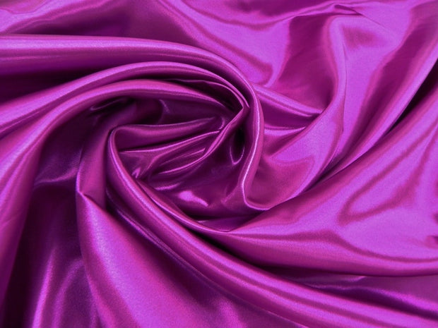 Bridal Satin - Table Napkins, Magenta, LGi Linens