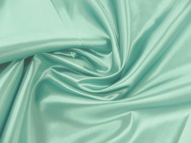 Bridal Satin - Chair Sash, Mint, LGi Linens