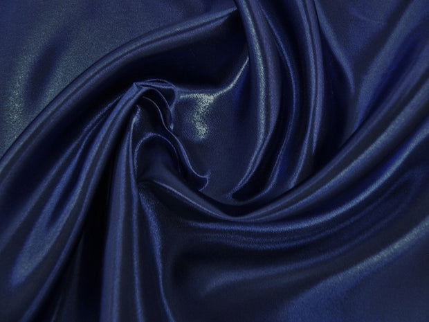 Bridal Satin - Chair Sash, Navy, LGi Linens
