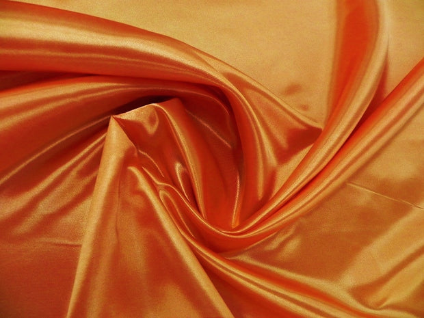 Bridal Satin - Chair Sash, Orange 621, LGi Linens