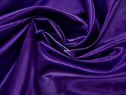 Bridal Satin - Chair Sash, Purple 393, LGi Linens