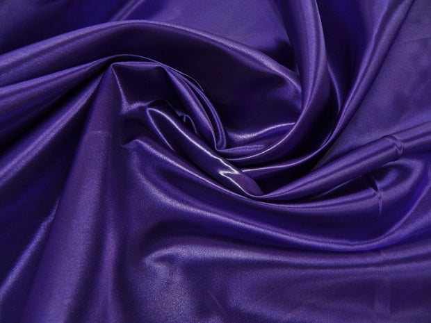 Bridal Satin - Chair Sash, Purple 658, LGi Linens