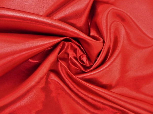 Bridal Satin - Table Napkins, Red, LGi Linens