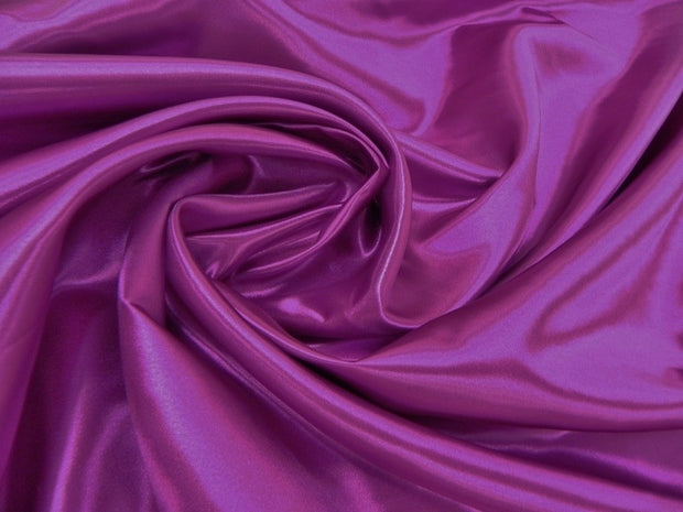 Bridal Satin - Table Napkins, Sangria, LGi Linens