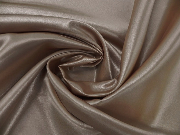 Bridal Satin - Table Napkins, Taupe, LGi Linens