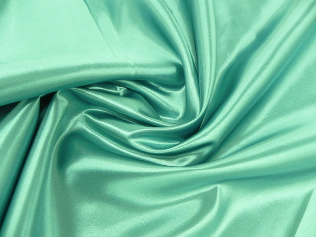 Bridal Satin - Table Napkins, Teal, LGi Linens