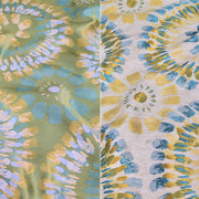 Sundance Jacquard - Table Napkins, Turquoise/Yellow, LGi Linens