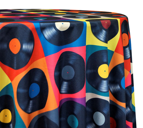 Disco Poly Print - Table Linens