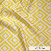 Paragon Print Lamour - Table Napkins, Yellow, LGi Linens