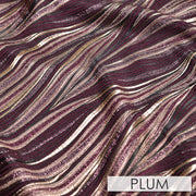 Allure Jacquard - Table Napkins, Plum, LGi Linens